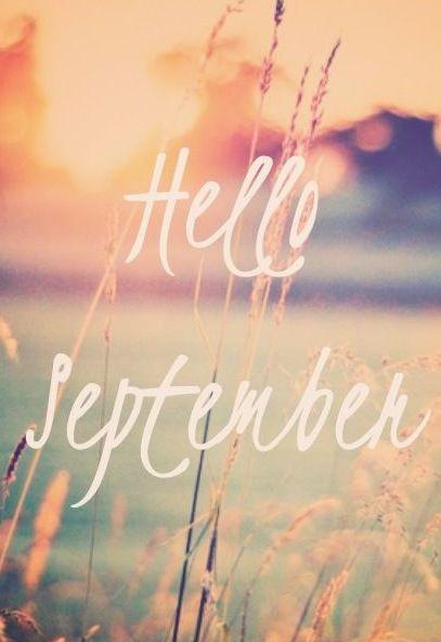 benvenuto settembre