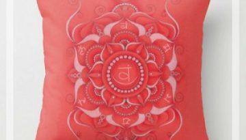 cuscino quadrato svadhisthana